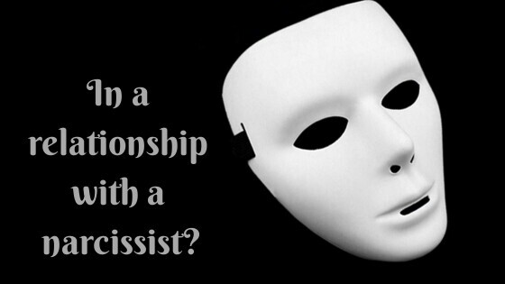 In a relationship with anarcissist?